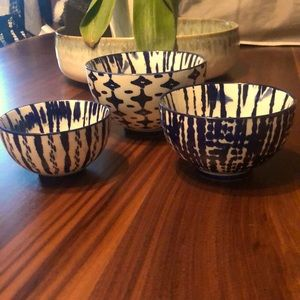 West Elm Set of 3 Nesting Bowls
